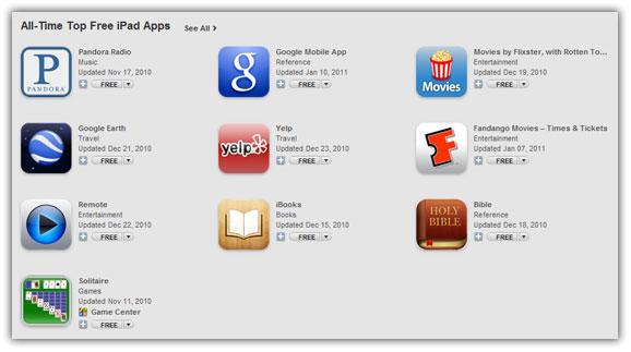 las mejore app para ipad